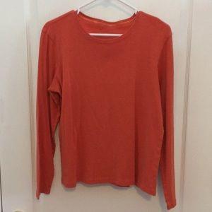 $2 Heather pumpkin XL tshirt